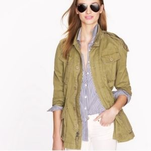 J.CREW  Boyfriend Fatigue Utility Jacket